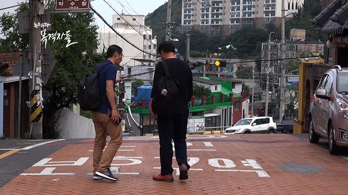 ▲ 증거자료를 찾아 나선 박준영 변호사와 오상훈 씨