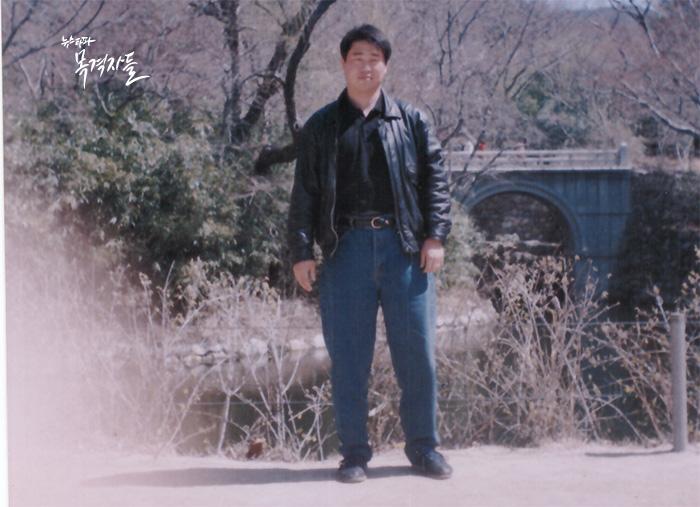 ▲ 오상훈 씨 경찰 재직 시절