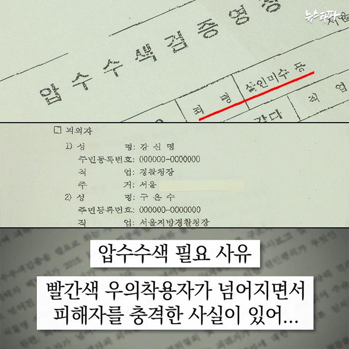 ▲ 9월 6일자 서울대병원에 대한 압수수색영장