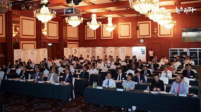 ▲ K스포츠재단이 주최한 '2016 국제 가이드러너 컨퍼런스' (출처 : 재단법인 케이스포츠 SNS)