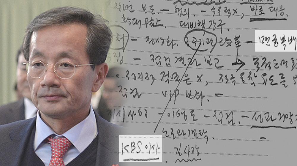 '김영한 비망록' 속의 KBS...청와대 손바닥에서 놀았다