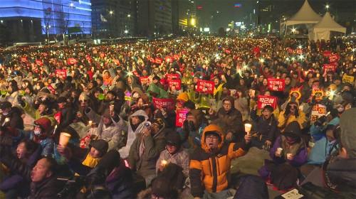 '박근혜 퇴진' 190만 촛불…국민 항쟁의 역사 새로 쓰다