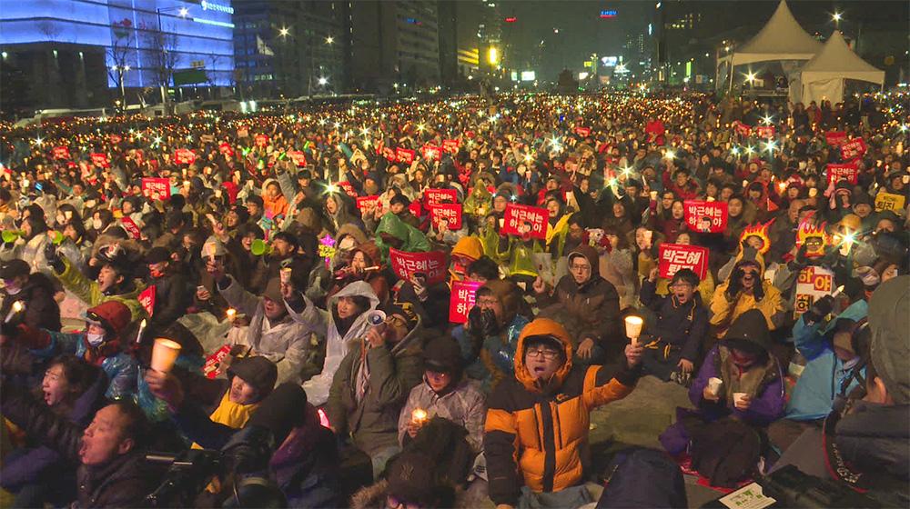 '박근혜 퇴진' 190만 촛불...국민 항쟁의 역사 새로 쓰다