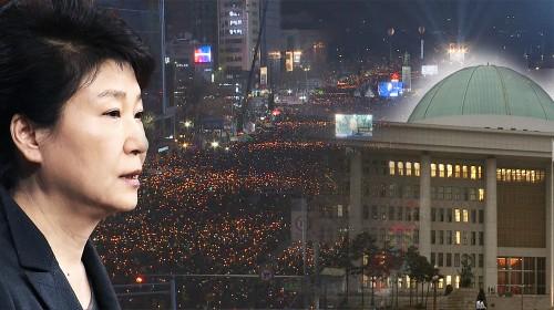 시위 떠난 탄핵화살… '박근혜 체제' 정조준