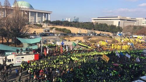 [SNS라이브] 박근혜 대통령 탄핵소추안 국회 표결