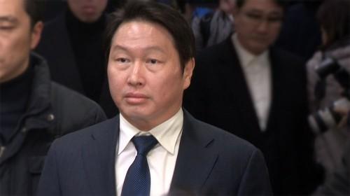 """박근혜, 최태원 사면 사전통보 지시…SK, """"하늘같은 은혜 영원히 잊지 않겠다"""""""
