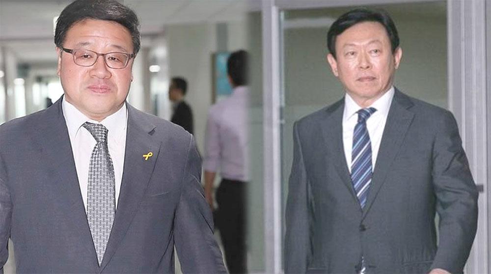 최순실·안종범, '롯데 70억' 관련 박근혜 공모 시인