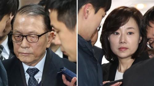 김기춘, 조윤선 구속...블랙리스트 수사, 남은 건 대통령