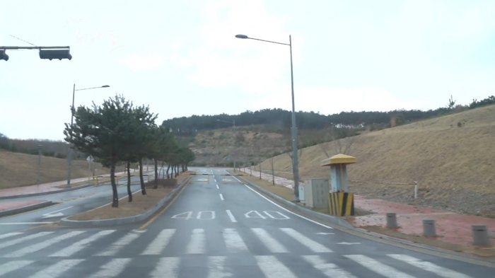 경주시 감포읍 대본리 일대의 감포관광단지 부지 260여만 제곱미터(약 80만 평), 이 곳에 파이로프로세싱 실증시설이 들어설 예정이다.