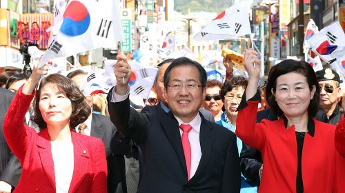 홍준표의 탄핵 입장은 자유한국당 당론과 다르다?