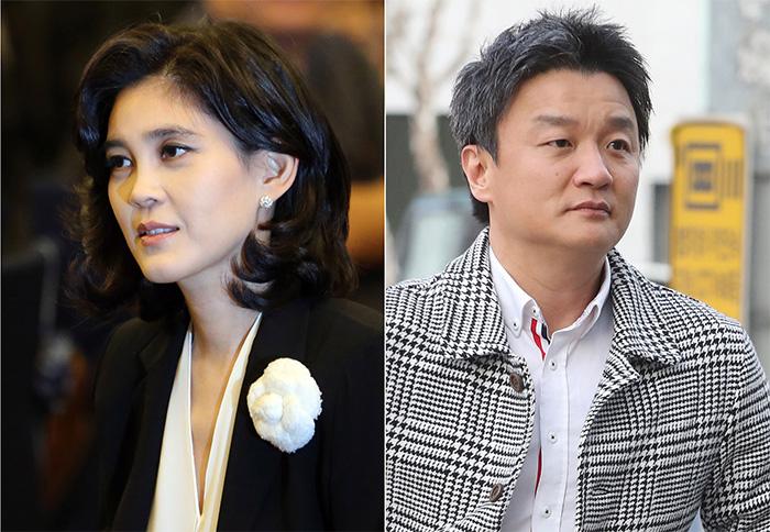 ▲ 삼성가 장녀 이부진 씨(좌)와 임우재 씨의 이혼소송 1심은 7월20일 마무리됐다.