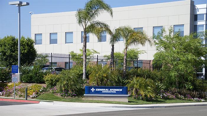 ▲ 캘리포니아 포웨이에 있는 제너럴 아토믹스 본사(출처 : 제너럴 아토믹스 웹사이트)