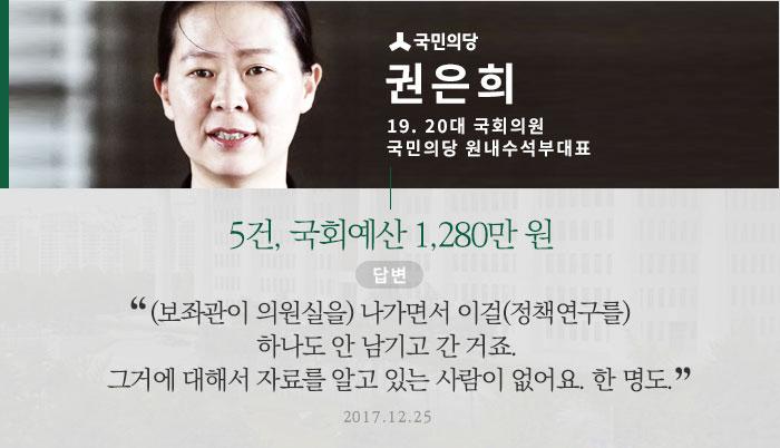 국민의당 권은희 원내수석부대표